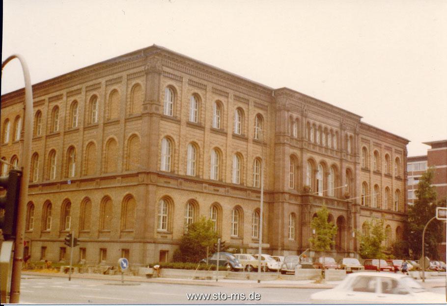 Das Landgericht in den 1970er Jahren