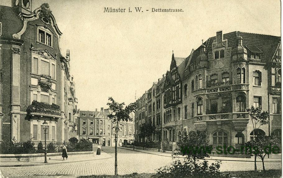 Dettenstraße um 1910