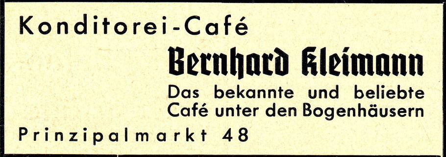 Werbung 1938