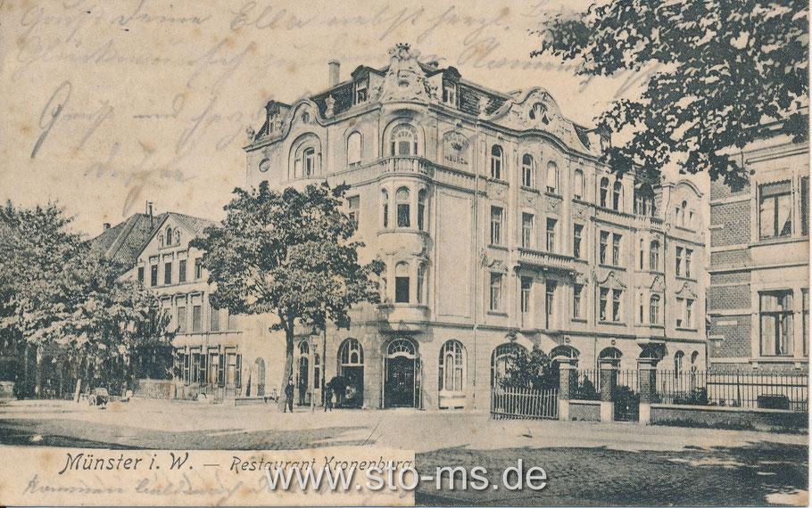 Die Kronenburg Weseler Straße Ecke Norbertstraße