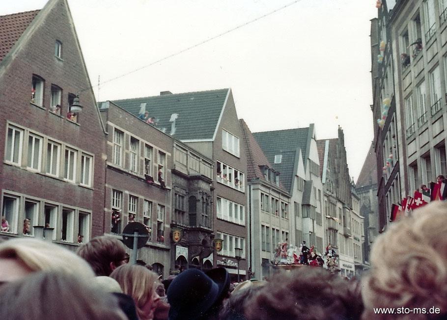 Karneval 1973 an der Bogenstraße