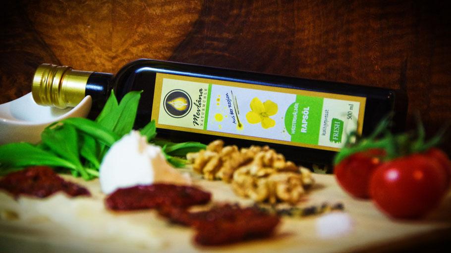 Rapsöl aus dem Westerwald, rapsöl, kaltgepresstes rapsöl, regionales rapsöl, öle aus der region, kaltgepresste öle