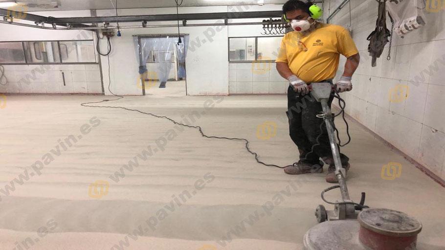 Grupo Pavin maneja todos los tipos de pinturas y resinas para suelos industriales en mataderos