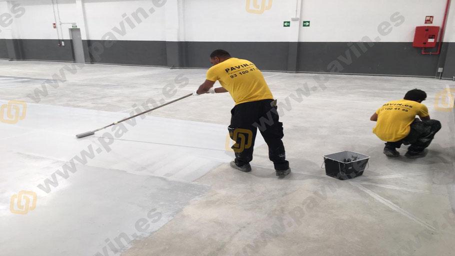 Pintar suelos con Grupo Pavin es garantía de éxito