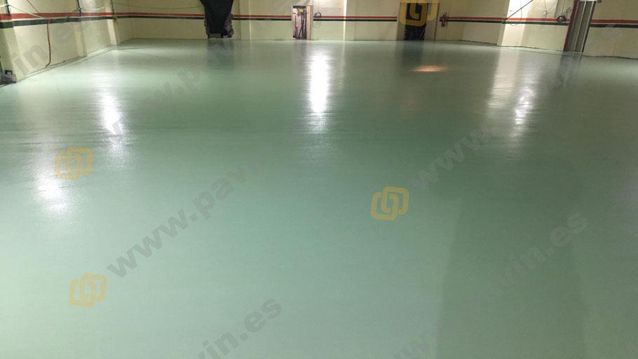 Suelos de resina para la aplicación de pavimentos industriales para salas blancas ( ESD ) por Grupo Pavin