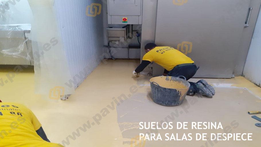 Capa de resina para los pavimentos industriales agroalimentarios para las salas de despiece