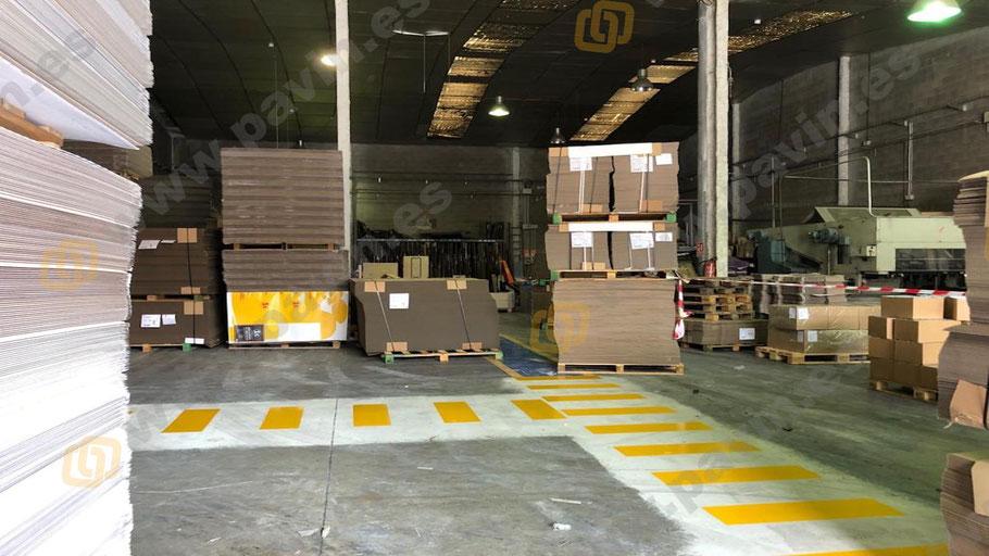 Suelos de resina para pavimentos industriales en el sector de las artes gráficas aplicados por Grupo Pavin