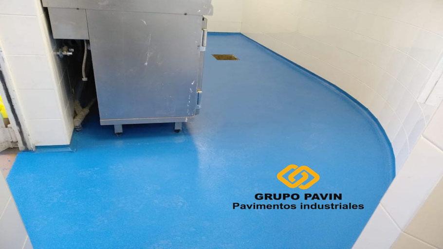 Pavimento industrial zonas de cuarto frío y cocina - GRUPO PAVIN