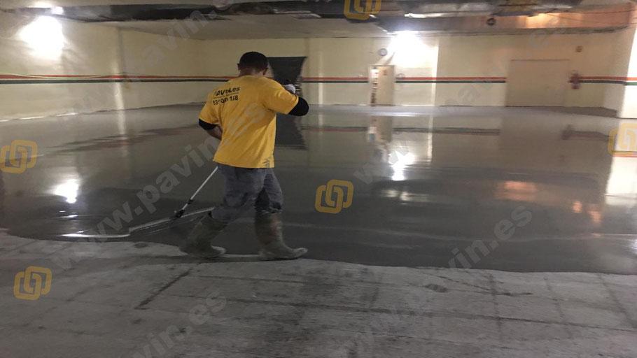 Morteros autonivelantes cementoso para la aplicación de pavimentos industriales para salas blancas ( ESD ) por Grupo Pavin