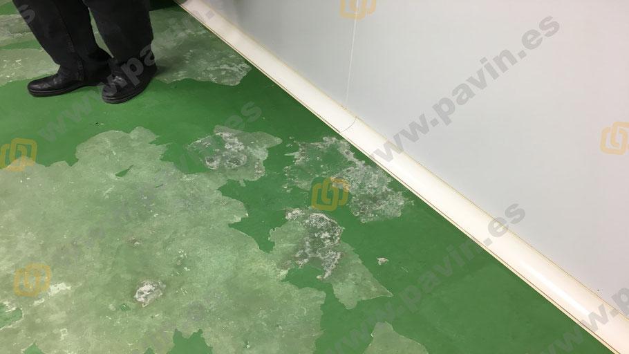 Dianovado de pavimentos industriales de hormigón o pintura para la aplicación de suelos de resina para la empresa, aplicados por Grupo Pavin