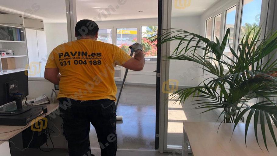 Sellado de protección para pavimentos industriales aplicado por Grupo Pavin