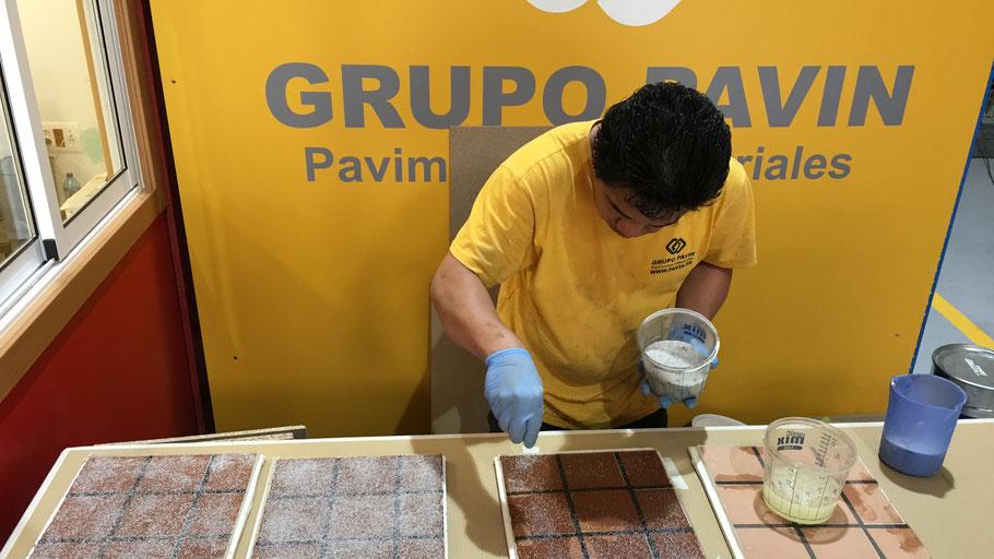 Buenos hábitos de aplicación en los pavimentos industriales continuos de resina en Barcelona