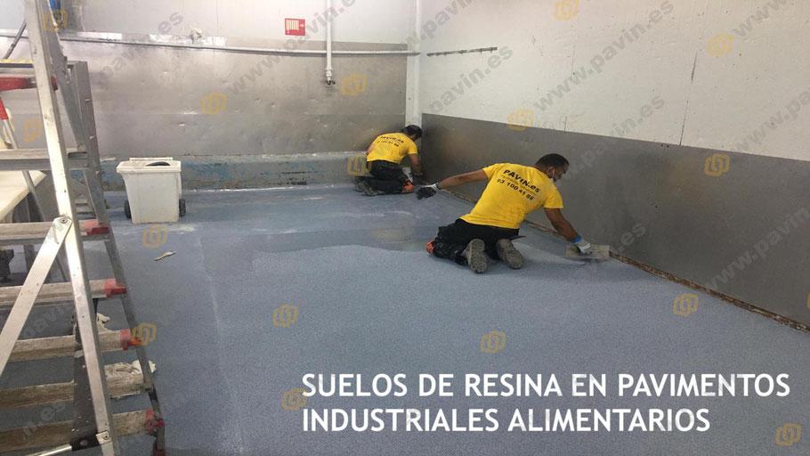 Grupo Pavin realiza la pavimentación industrial de naves para la alimentación con suelos de resina antideslizantes