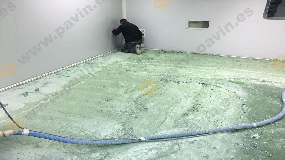 Dianovado de pavimentos industriales para la aplicación de suelos de resina para la empresa, aplicados por Grupo Pavin
