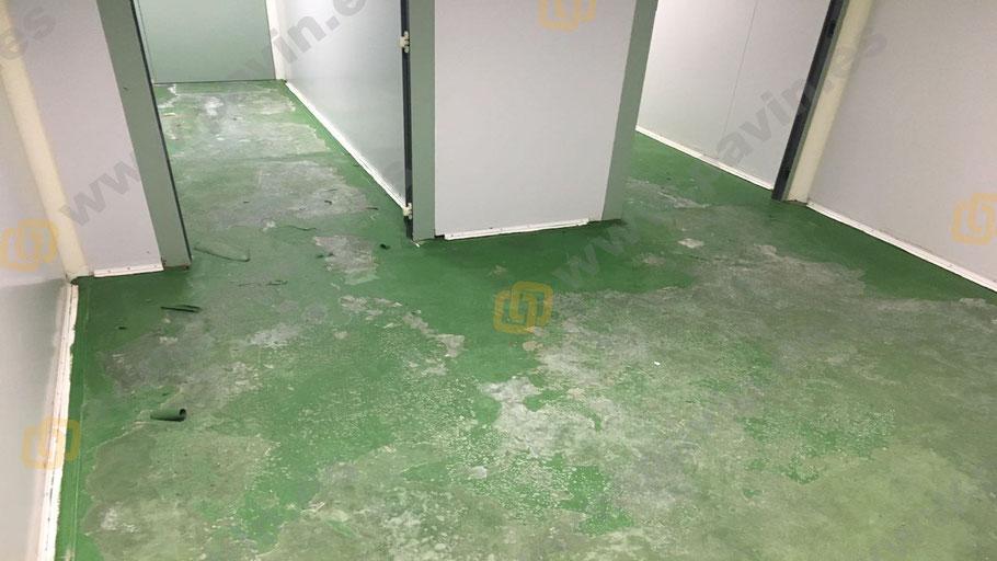 Dianovado industrial de pavimentos continuos para la aplicación de suelos de resina para la empresa, aplicados por Grupo Pavin