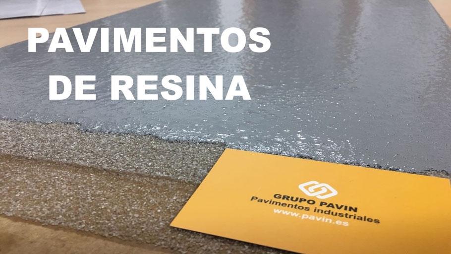 Pavimentos de resina