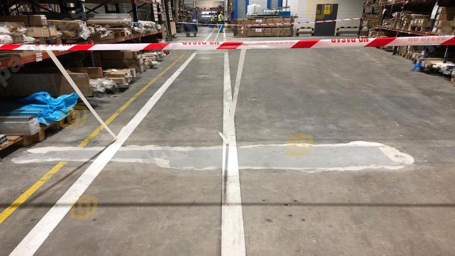 Grupo Pavin aplica la reparación de juntas elásticas y con movimiento en los pavimentos de hormigón deteriorados de la empresa