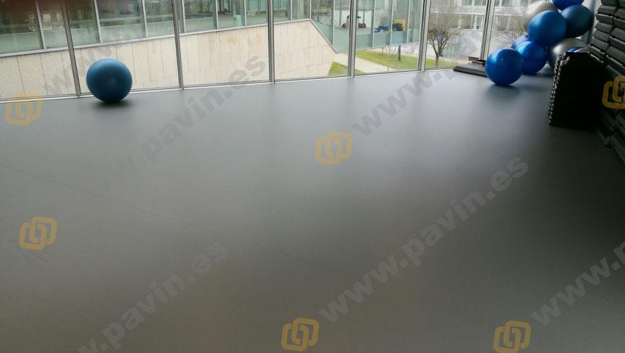 Suelos de resina para pavimentos industriales deportivos aplicados por Grupo Pavin