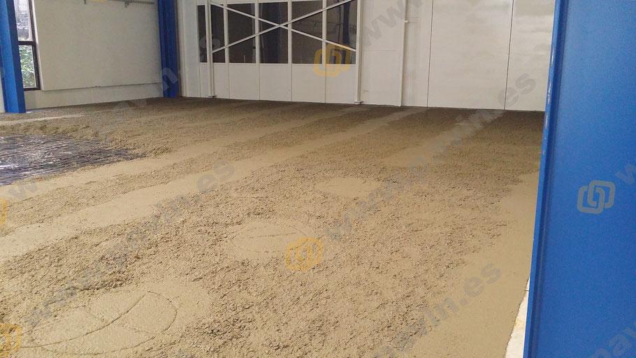 Pavimentos industriales de hormigón