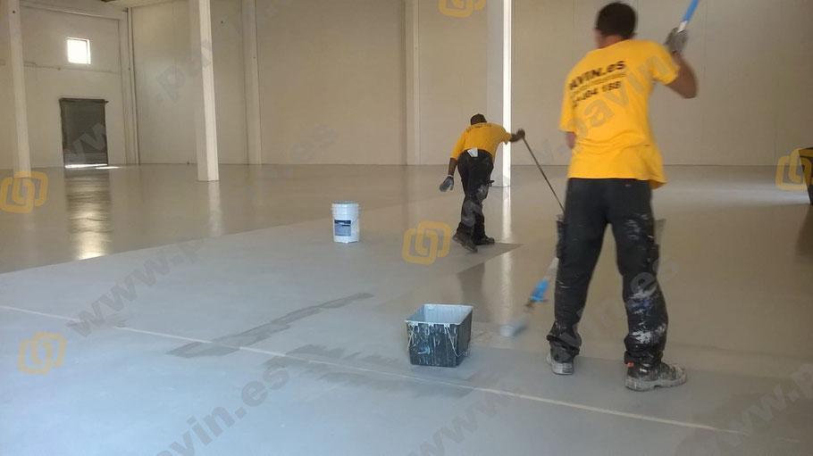 Suelos de resina para pavimentos industriales en el sector textil