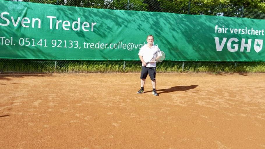 Am 6. Mai 2020 ließen die Lockerungen der Corona-Schutzmaßnahmen die Wiederaufnahme des Tennis-Training wieder zu.