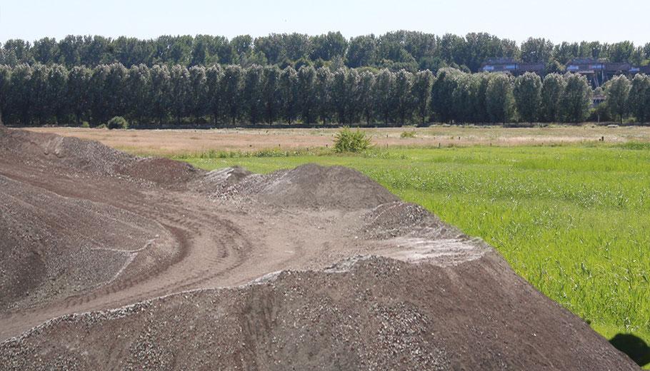 Oberbillwerder Sand Sandaufschüttung Hamburg Bergedorf Billwerder