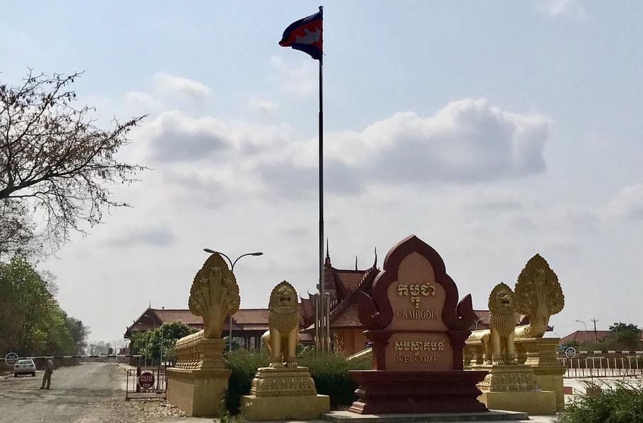 grensovergang laos cambodja