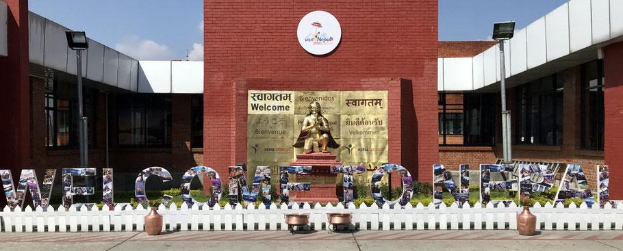 nepal luchthaven kathmandu