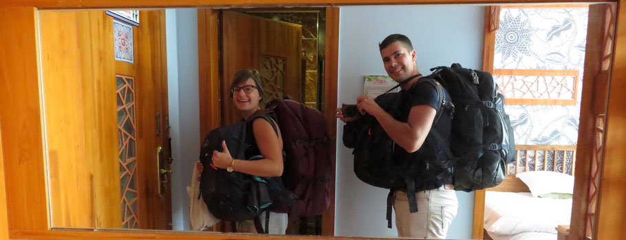 Planning wereldreis-packing list