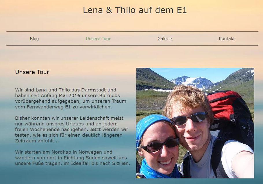 Am Nordkap ging die Wanderung auf dem E1 längs durch Europa am 21.5.16 los. Am 13.9.17 kamen sie am Capo Passero auf Sizilien an. Sie haben auf ihrem Blog viel zu erzählen.
