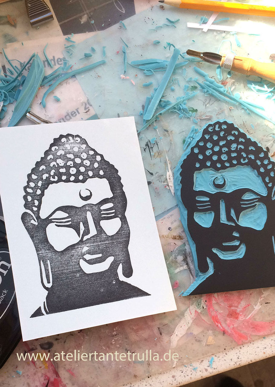 Stempel Buddha
