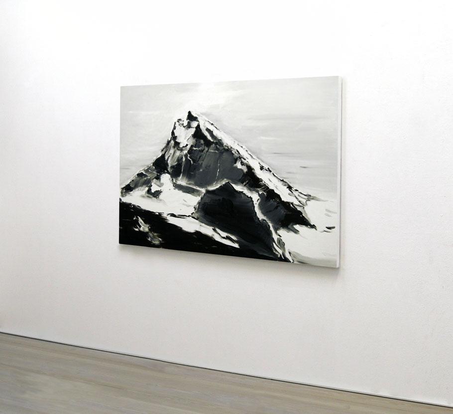 Matthieu van Riel. Schilderij. Dent Blanche 75x105cm olie op canvas 2010