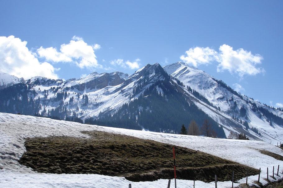 ...auf den Bergen
