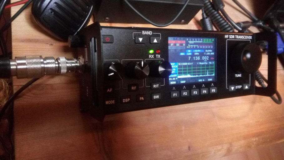 RECENT  RS 918  SDR  QRP  HF