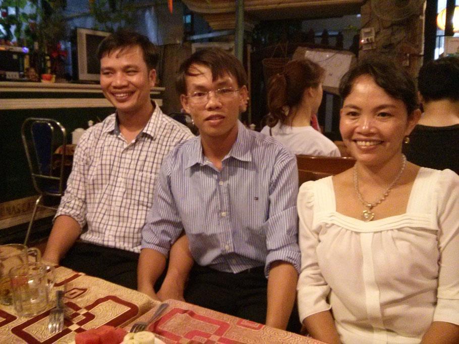 Luong und die Mönche