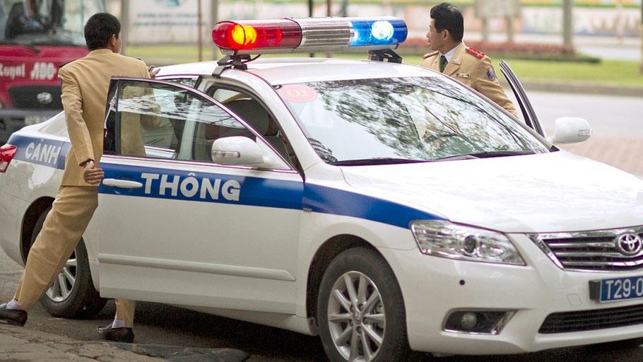 Polizei (cong an) in Vietnam
