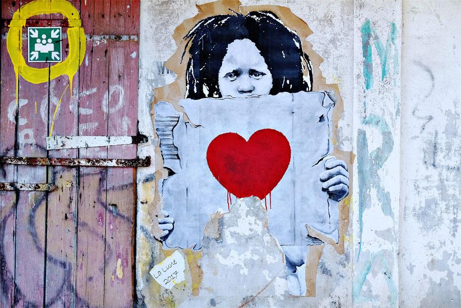 Mauritius reggae graffiti street art