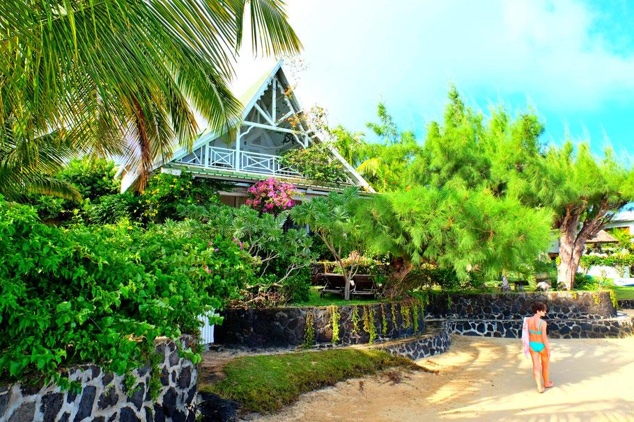 Mauritius beach house