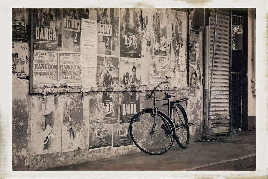 Mauritius old bicycle