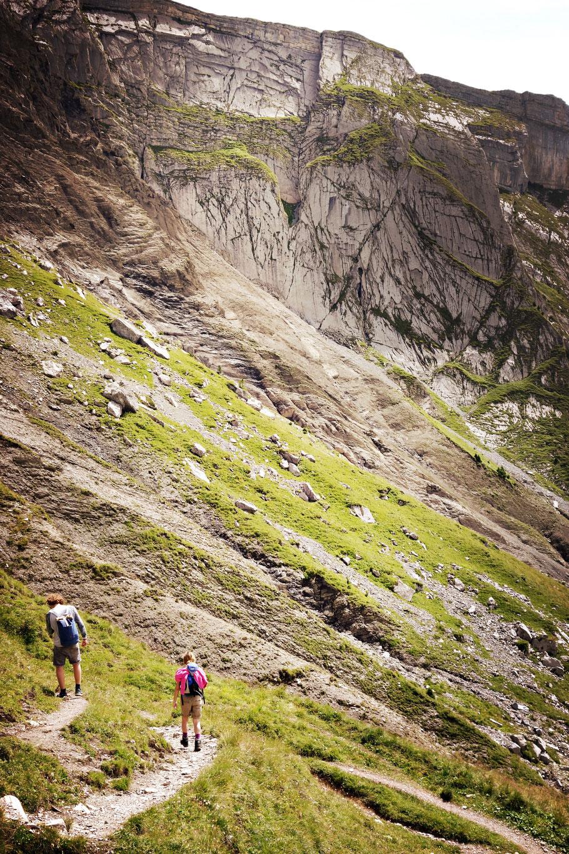 Berner Oberland Schweiz Wandern Alpen