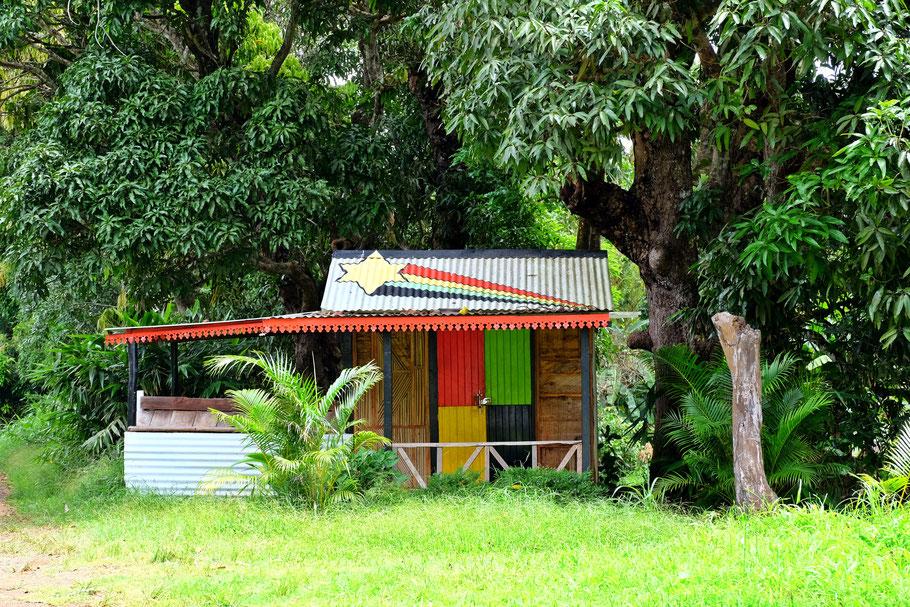 Mauritius reggae shack