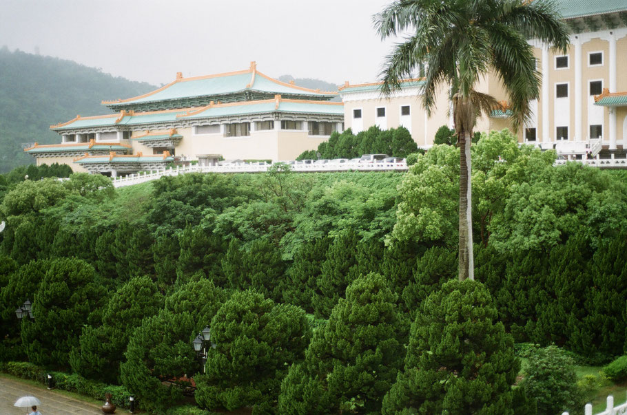 The National Palace Museum. To be honest, I didn't take in much of what I see inside but the exterior was SPLENDID