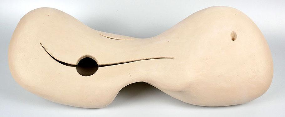 Skulptur Ikebana Schrühbrand