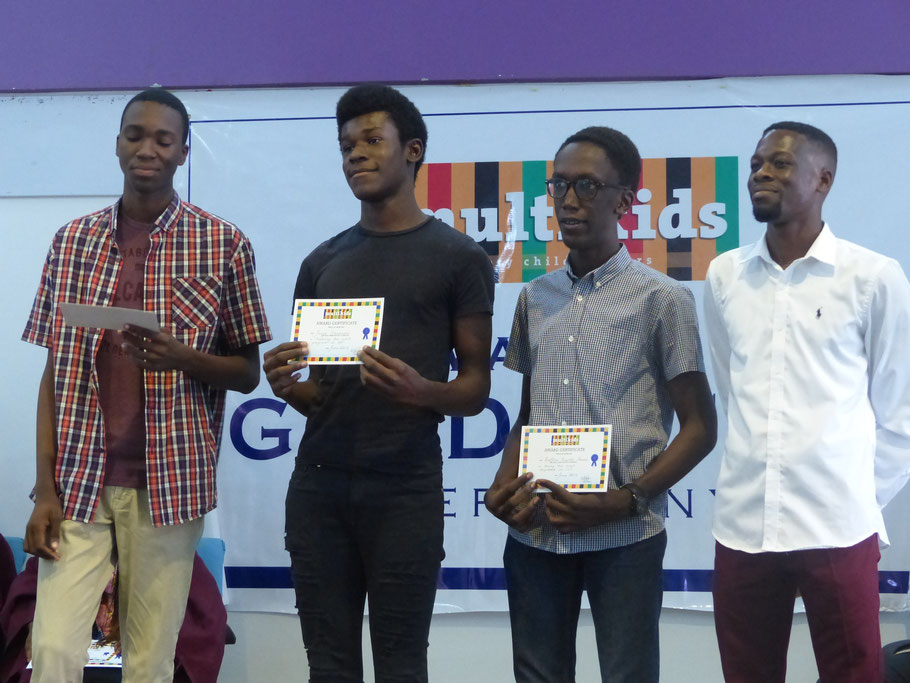 Prize Giving, British Council Hall, July 2019