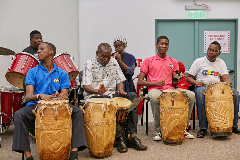 We have a vibrant drumming group that performs at functions., students are accredited for all skills through ASDAN courses.