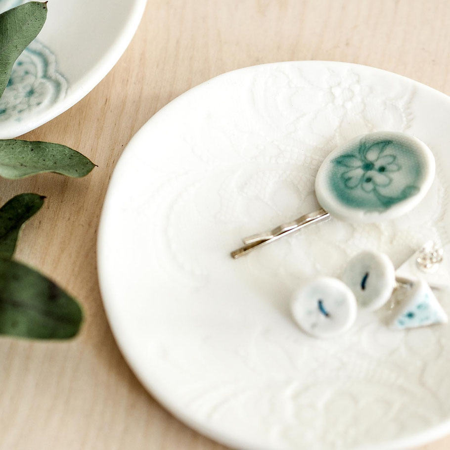 jewelry trinket plate jewellery dish
