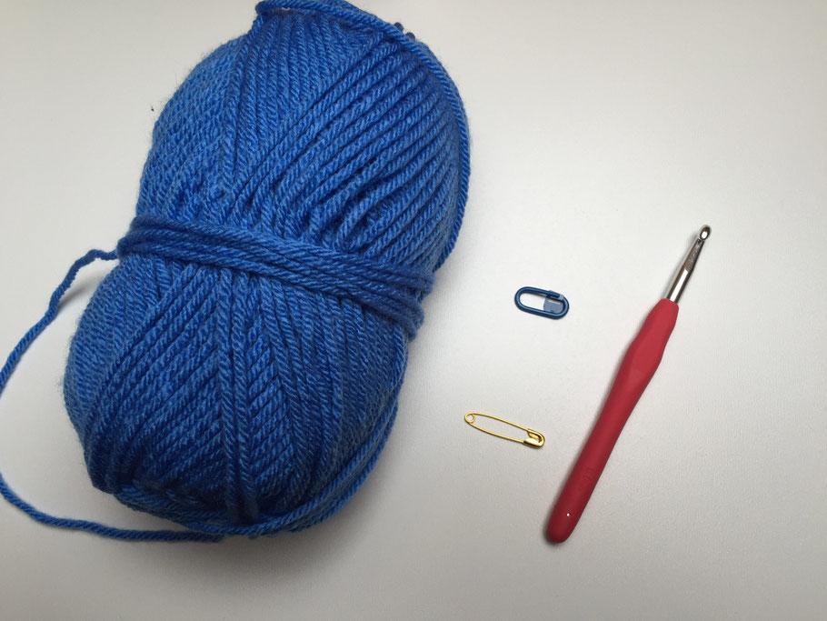 Tutorial > Moos-Muster // moss-stitch - Häkeln macht glücklich ...