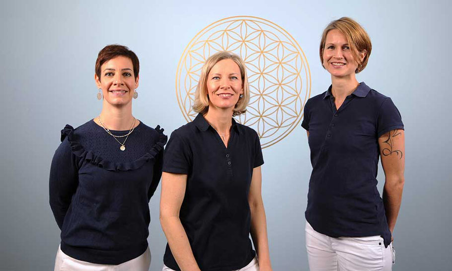 Praxis für Physio & KomplementärTherapie Aarau, Nadja Dell'Oso, Kirsten Pohlmeyer Butscher, Isabelle Parreno