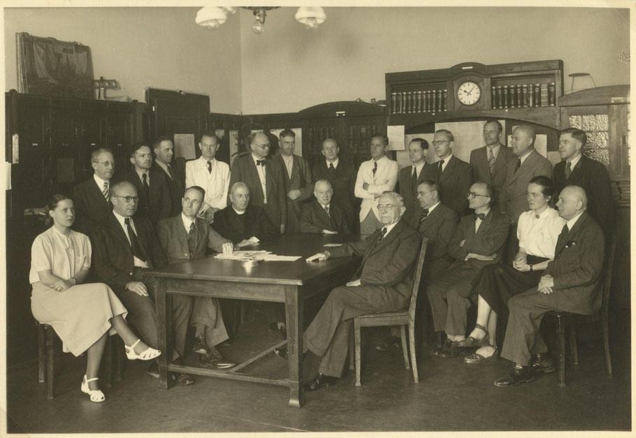 Kollegium 1949 von Gymnasium Paulinum und Schillergymnasium