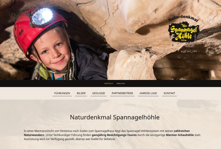 Spannagelhöhle - Infos in Kürze!